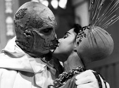 Vincent Price and Virginia North - The Abominable Dr. Phibes, 1971.