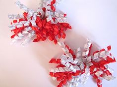 How to make korker bows.  These are fun to make.