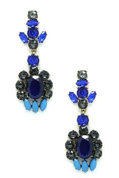 Blue Drop Earrings on HauteLook