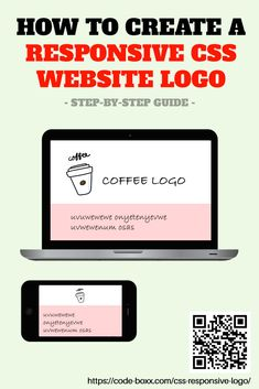 How to Create Responsive Logos For Your Website #CSS #HTML #webdeveloper #coding #programming #beginner