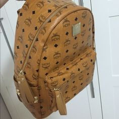 High Quality MCM Backpack Never used & high quality mcm backpack. (Reason for price point) Open to offers, questions and purchasing luxelavish@outlook.com. *Square Cash app* MCM Bags Backpacks