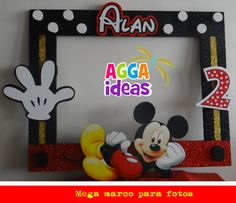 Mickey mouse                                                                                                                                                     Más Mickey E Minnie Mouse, Mickey Mouse Crafts, Theme Mickey, Fiesta Mickey Mouse, Mickey Mouse Parties, Mickey Party, Mickey Mouse Clubhouse, 2nd Birthday Boys, Mickey Mouse Birthday