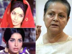 Yesteryear Bollywood Divas Then and Now - Raakhee became an instant