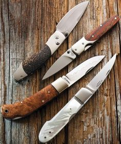 I love gentleman folders these knives are not only beautiful but extremely sharp.