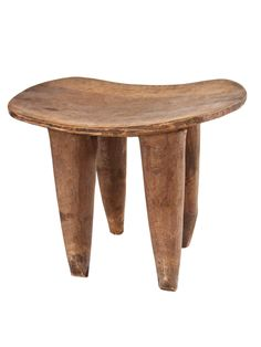 carved African stool #Taigan