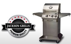 LUX 400 - perfect for a patio or small deck! Lux Series, Grills, Jackson, Deck, Patio, Outdoor Decor, Home Decor, Decoration Home, Room Decor