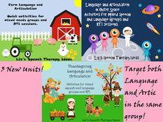 Liz's Speech Therapy Ideas: Language