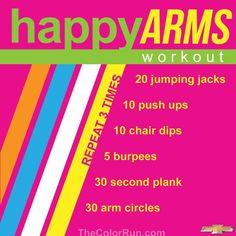 Fun run workout