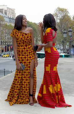 African Party Dresses, Latest African Fashion Dresses, African Print Dresses, African Print Fashion, African Dress, African Style, African Fashion Traditional, Traditional Outfits, Ankara Long Gown Styles