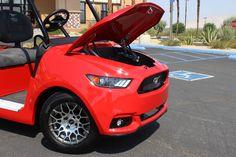 2017 Ford Mustang Custom Golf Car   Caddyshack Golf Carts