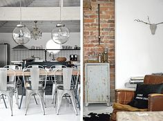 industrial interior design | by Simona Ganea , posted in Interiors , on December 22nd, 2011