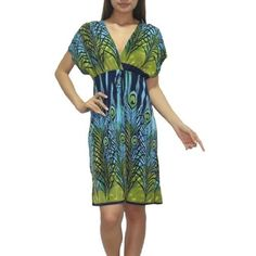 Womens Thai Exotic Fashion Cute Flutter Sleeves Blouse Top / Summer Dress - Multicolor (Size: M-L ) Dress. $29.99. Save 49% Off!