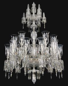 crystal chandelier with glass cut - Google Search