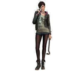 Apocalypse Survivor, Zombie Apocalypse, Avatar Characters, Female Characters, Moira Burton, Resident Evil Game, Revelation 2, Character Portraits, Shadowrun