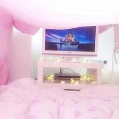 Disney movie & blanket fort! Happy place