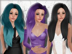 Tameless Hair Adiana, Erica and Adelaide for Petites by Nita Bracken, via Flickr