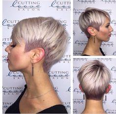 So eine Frisur möchte ich auch! 13 sommerliche Kurzhaarfrisuren zum Verlieben; so schön! - Neue Frisur                                                                                                                                                     Mehr