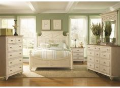 Ocean Isle Poster Bedroom Set - Liberty Furniture