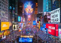 Times Square, center of the universe on New Year's Eve. @nyccheap #nyccheap #NYE www.nyconthecheap.com