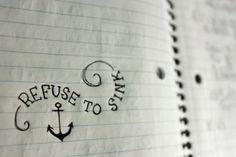 I really like nautical tattoos for some reason.
