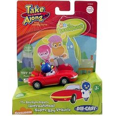 The Backardigans Take Along International Diecast Super Spy Vehicle by Learning Curve. $13.33. Smart Magnets connect either way. Includes a collectible character card. Die-cast metal construction. Ages: 3+. Super Spy Pablo from The Backyardigans is off to protect the world and look cool while doing it in his die-cast Super Spy red, sports car. But it's more than an ordinary automobile: press the trunk to release the wings and rocket boosters for those quick getaways. Sm...