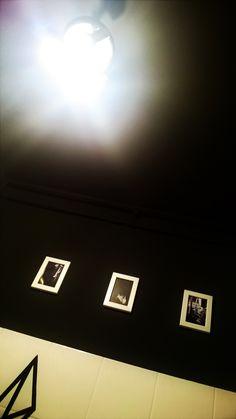 coz black ceiling is cool :)