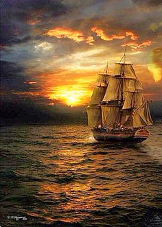 A Nature Pictures, Cool Pictures, Beautiful Pictures, Boat Wallpaper, Pirate Boats, Old Sailing Ships, Ship Paintings, Boat Art, Wooden Ship