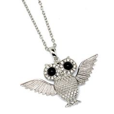 would love an owl necklace