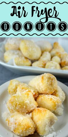 I love those sugar donuts at the Chinese Buffet – and not only did I make them at home – I made them in my air fryer! They're light, fluffy and done in minutes! It's a great (cheap) fun dessert! I love those sugar donuts at the Chinese Buffet – and not … Air Fryer Recipes Wings, Air Fryer Recipes Dessert, Air Fryer Recipes Low Carb, Air Fryer Recipes Breakfast, Breakfast Dishes, Oreo Dessert, Dessert Buffet, Mini Desserts, Beignets