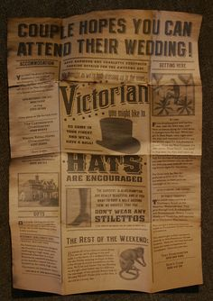 victorian,typo,journal,newspaper,retro,hat