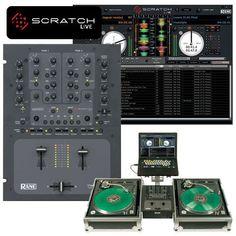 Rane TTM-57SL-2 Channel DJ MIxer W/Scratch Live