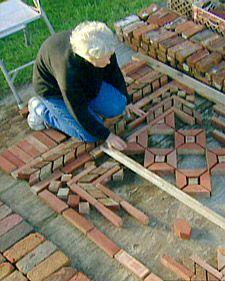 Brick Garden Rugs with Margaret - Martha Stewart Home & Garden
