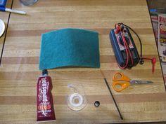 Repairing solar lights