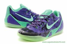 sites de lojas de tenis Masculino Nike Kobe 9 Roxo 653972-003
