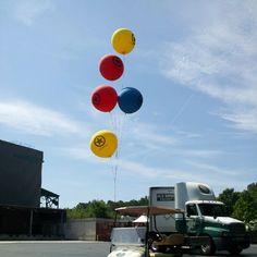 Now I Haz 5 Giant Balloons Taken With Instagram At Farm Bureau Live Balloonsvirginia Beachinstagramlive