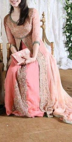Latest Beautiful Walima Dresses Collection for Wedding Bridals 2015-16 (19)