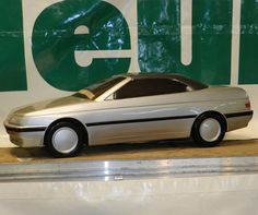 OG | Peugeot 605 Cabriolet | Scale model by Heuliez dated 1990