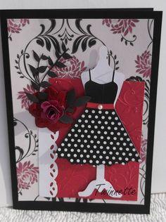 http://twinnette.canalblog.com. La fille aux petits pois.