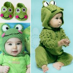 Knitted and Crochet Frog Free Patterns