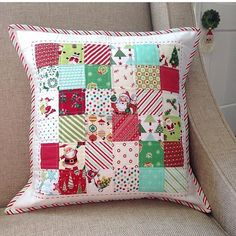 """320 Likes, 30 Comments - LeAnne Ballard (@everydaycelebrations) on Instagram: """"I'm starting to work on some Christmas presents, and some of those will include pillows like this…"""""""