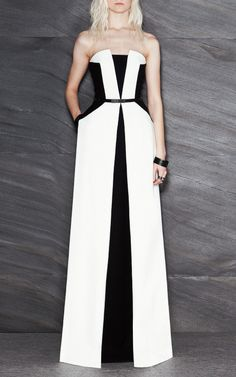 #maximesimoens Stretch Crepe Long Dress by Maxime Simoens for Preorder on Moda Operandi