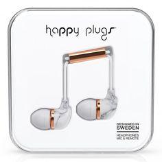 Happyplugs In-ear. Hitta fler Samsunghörlurar: http://www.phonelife.se/samsung-horlurar