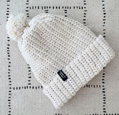 "Finnish ""hittipipo"" pattern is available now in english. Crochet Chart, Free Crochet, Knit Crochet, Crochet Beanie, Knitted Hats, Crochet Clothes, Diy Clothes, Fondant Baby Shoes, Beanies"