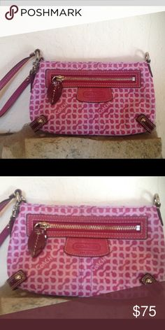 Coach Clutch Pink Coach Clutch Bag - used three times - like new! Coach Other