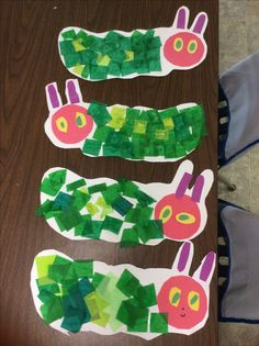 Camping Crafts For Toddlers Eric Carle Ideas For 2019 Insect Crafts, Bug Crafts, Daycare Crafts, Camping Crafts, Camping Site, Toddler Art, Toddler Crafts, Spring Activities, Preschool Activities
