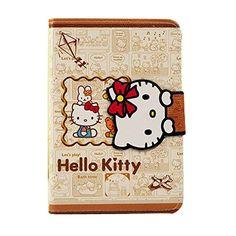 Leather Case, Pu Leather, Ipad Air 2 Cases, Apple Ipad, Sanrio, Hello Kitty, Sleep, Wallet, Iphone