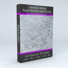 Nairobi Road Network | 3D model