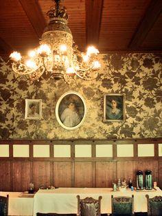 Wallpaper villa Elfvik 1904 Espoo Finland