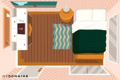 Finding an optimal layout for your small bedroom can be a hassle, but we've got several layout ideas that can help.