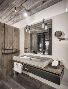 interior design washroom. ? Love the sink/style